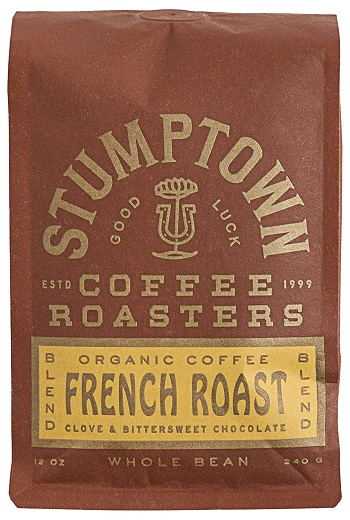 Stumptown Roasters French Roast Whole Bean Organic Coffee, 12 oz