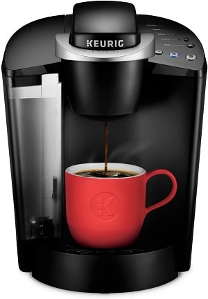 Keurig K-Classic Coffee Maker, Single Serve K-Cup Pod Coffee Brewer, 6 to 10 Oz.