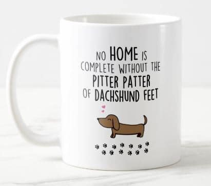Cute Dachshund Coffee Tea Mug