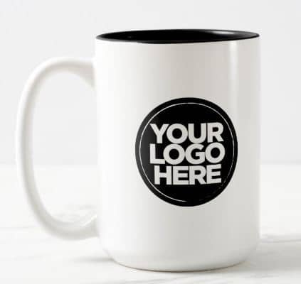 Your Business Logo Special Colors Large 15oz Mugs