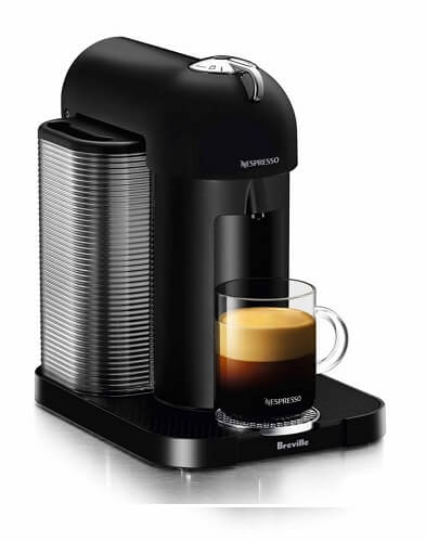 Breville BNV220BLK1BUC1 Vertuo Coffee and Espresso Machine, Black