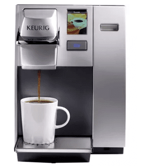 Keurig K155 Office Pro Commercial Coffee Maker, Single Serve K-Cup Pod Coffee Brewer, Silver, Extra Large 90 oz