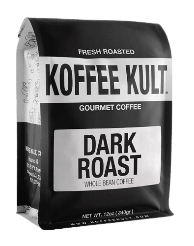 Koffee Kult Coffee Beans Dark Roasted - Highest Quality, Whole Bean Coffee